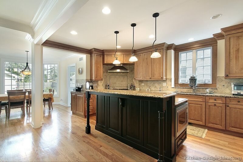 Pictures Of Kitchens Traditional Two Tone Kitchen