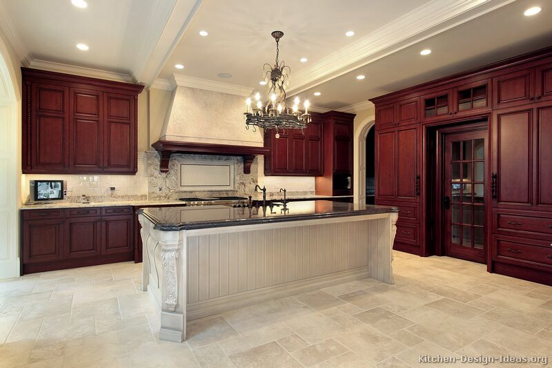 31, Traditional Kitchen Cabinets