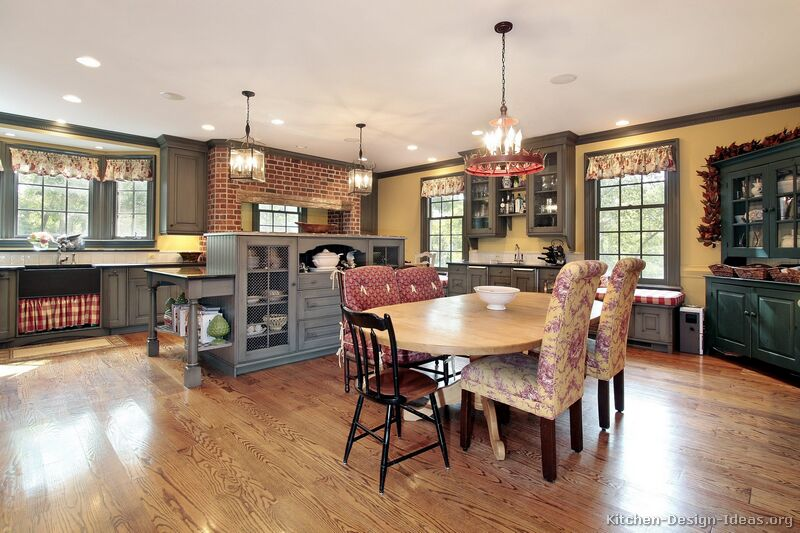 Country kitchen design pictures and decorating ideas for Country kitchen decor