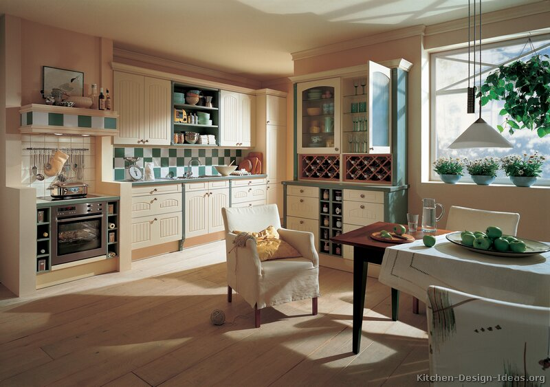 Cottage Kitchens - Photo Gallery and Design Ideas