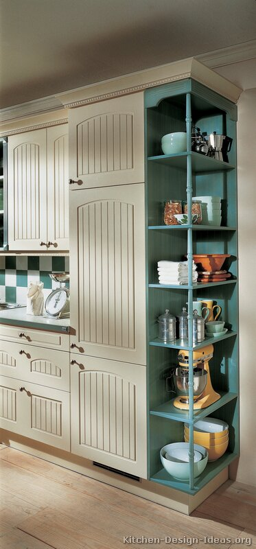 of Kitchens  Traditional  Two Tone Kitchen Cabinets (Kitchen #118