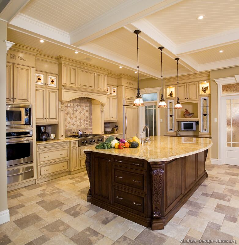 Luxury kitchen designs dream house experience for Kitchen island designs plans