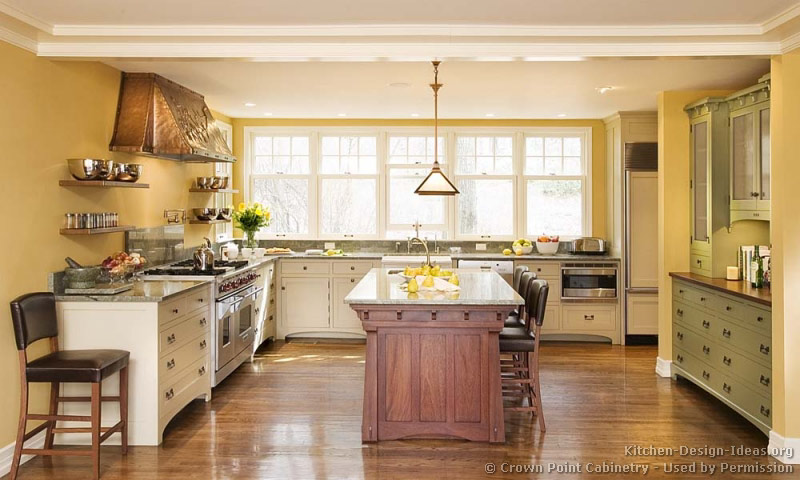 Craftsman kitchen design ideas and photo gallery for Kitchen designs and layout