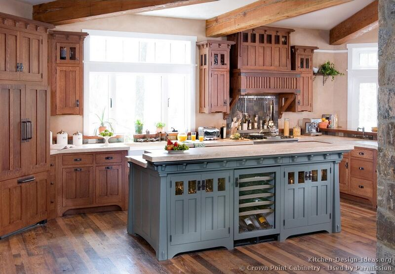 craftsman kitchen design ideas and photo gallery