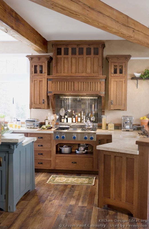 Craftsman kitchen design ideas and photo gallery for Kitchen style design