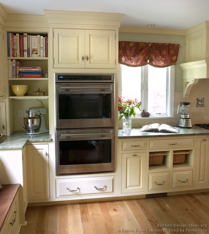 of Kitchens  Traditional  Two Tone Kitchen Cabinets (Kitchen #128