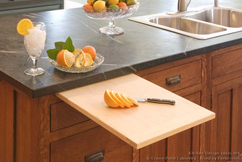 cutting kitchen cabinets. 05, Traditional Two-Tone Kitchen Cutting Cabinets U