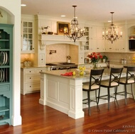 Kitchen Cabinet Styles - Victorian Kitchens