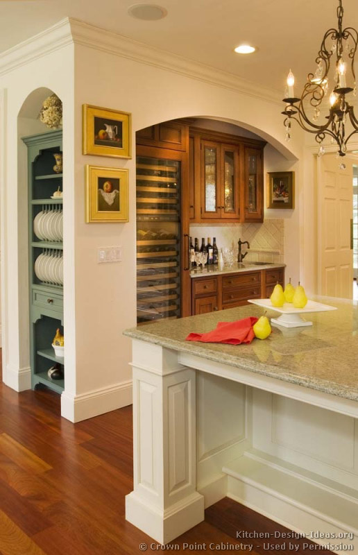 Kitchen Design Ideas Org Part - 30: Traditional Two-Tone Kitchen