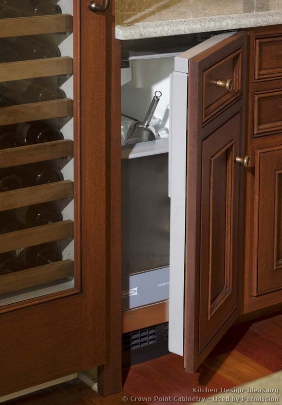 Top Kitchen Appliances for Entertaining: A built-in ice maker is a great help if you entertain frequently.