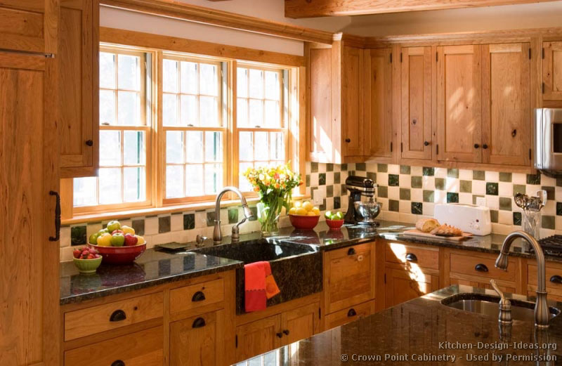 Kitchen Design Ideas For Medium Kitchens early american kitchens - pictures and design themes