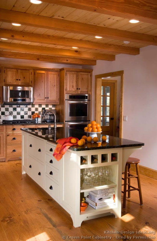 of Kitchens  Traditional  Two Tone Kitchen Cabinets (Kitchen #142