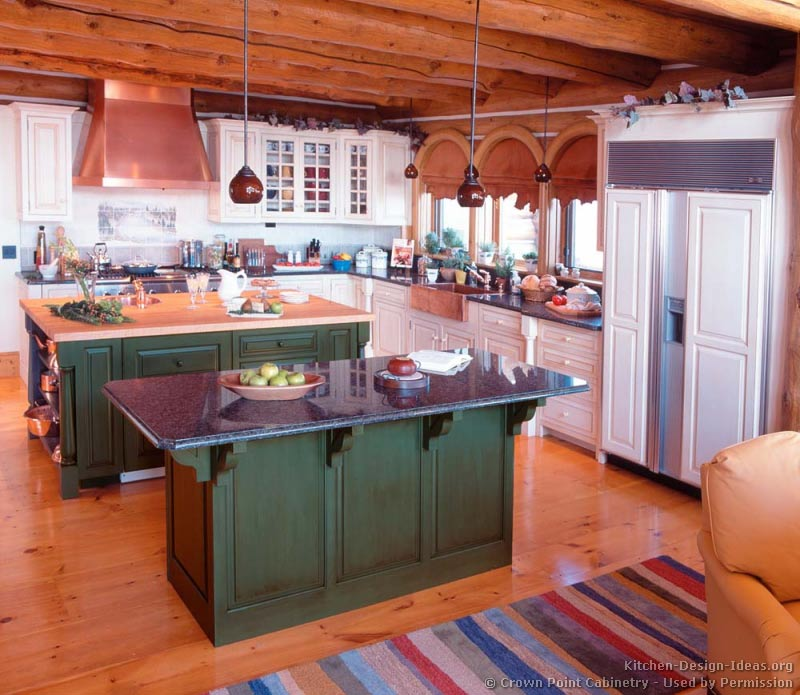 Log Homes On Pinterest Log Home Kitchens Log Home Interiors And Log Cabin Kitchens