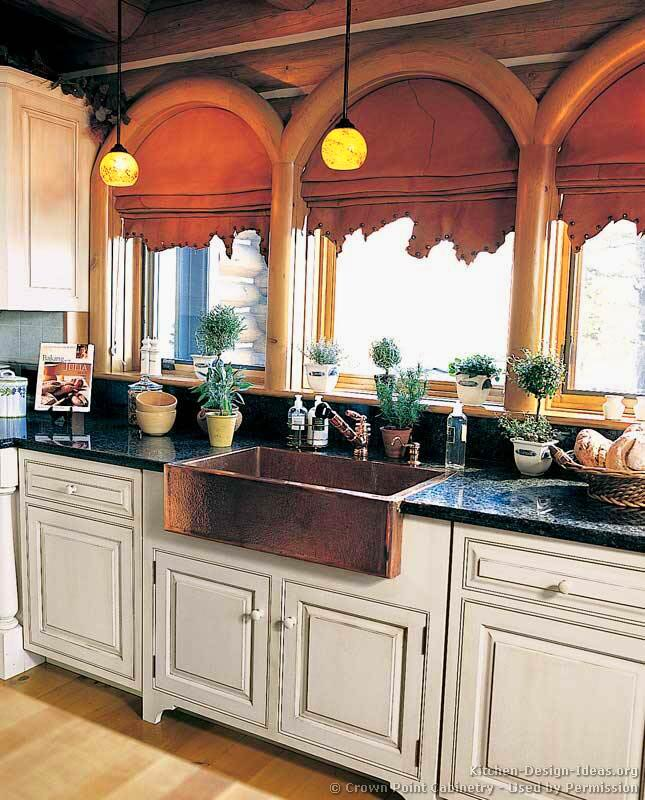 of Kitchens  Traditional  Two Tone Kitchen Cabinets (Kitchen #149
