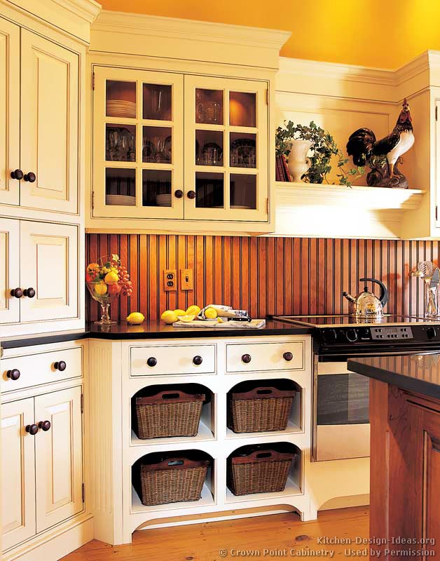 Pictures Of Kitchens Traditional Two Tone Kitchen Cabinets Kitchen 150