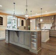 Traditional Gray Kitchen