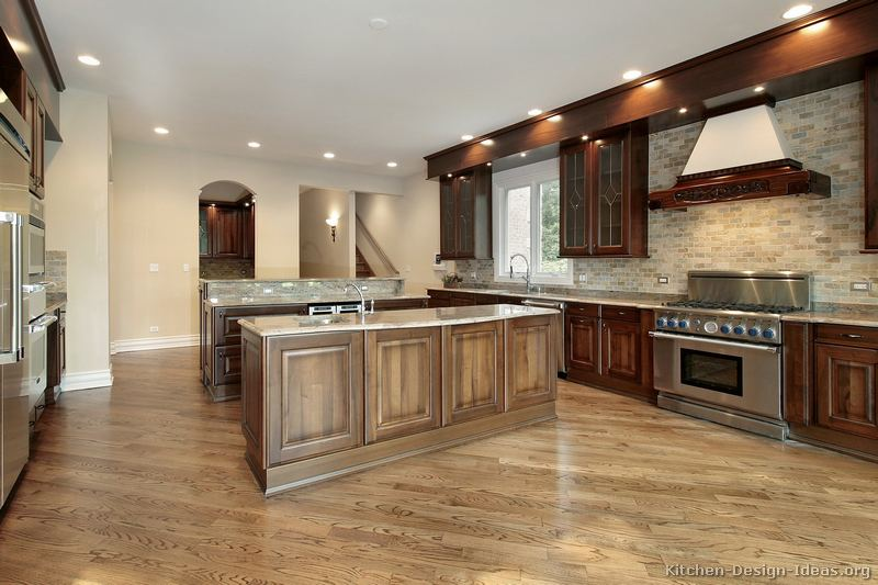 Pictures Kitchens Traditional Two Tone Kitchen Cabinets Page