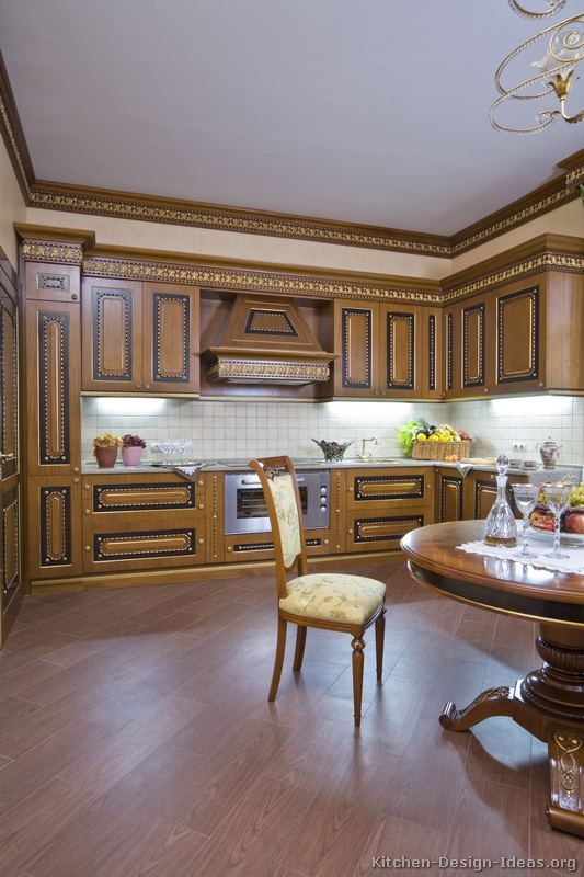 Gold Kitchen Cabinets