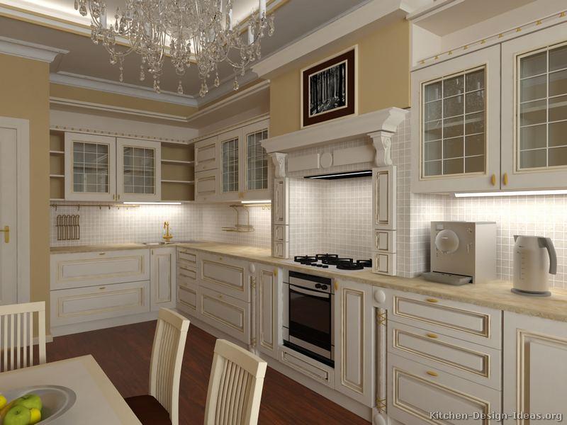 White Two Tone Kitchen Ideas