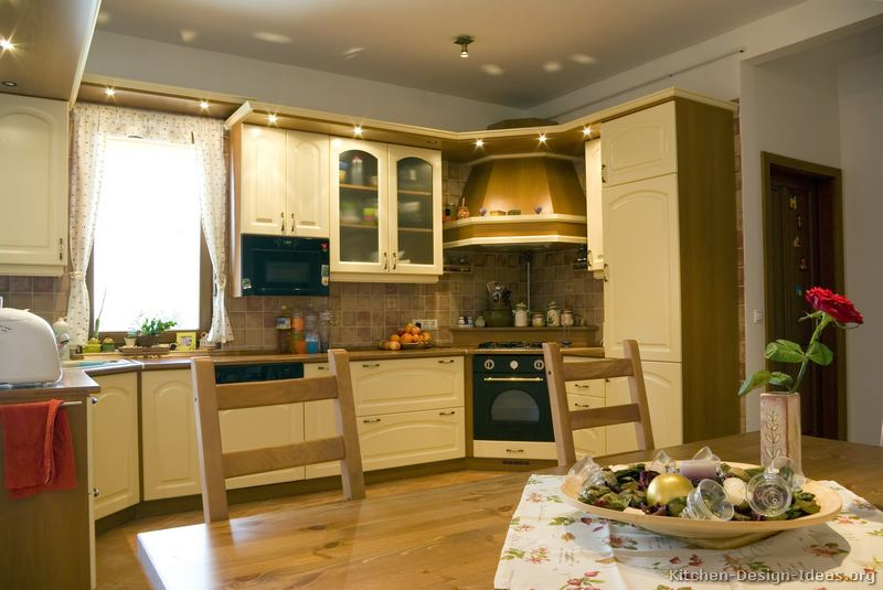 202 Traditional Two Tone Kitchen