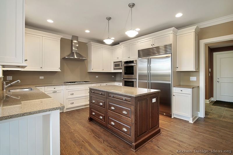 Pictures of Kitchens - Traditional - Two-Tone Kitchen Cabinets (Page 8)