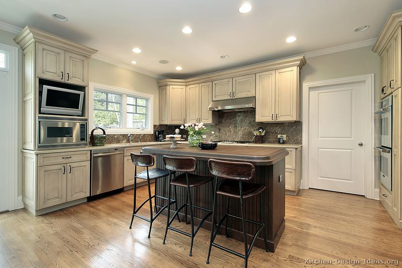 Two tone kitchen cabinets two tone kitchen cabinets ideas for Kitchen cabinets 2 tone