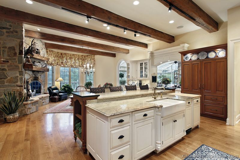 Rustic kitchen designs pictures and inspiration for Rustic kitchen island ideas