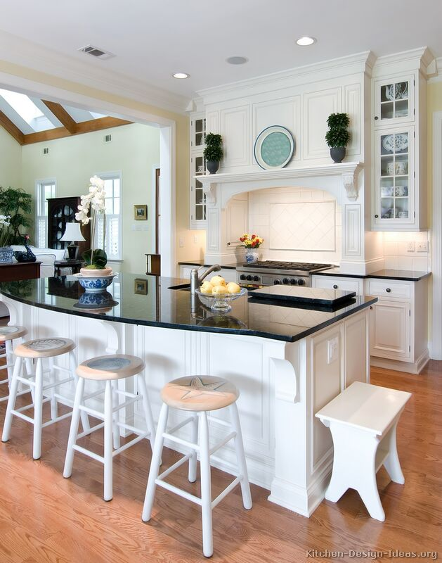 Pictures Of Kitchens Traditional White Kitchen Cabinets Kitchen 1