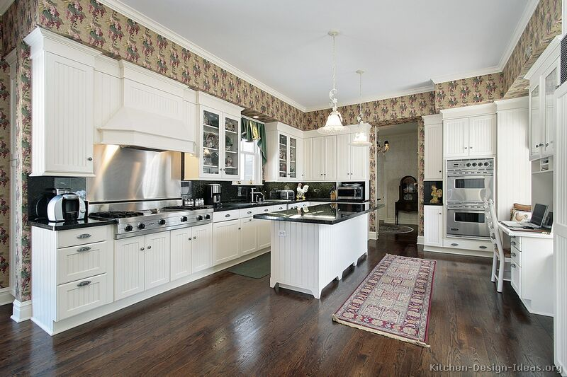 Pictures Of Kitchens Traditional White Kitchen Cabinets Kitchen 7