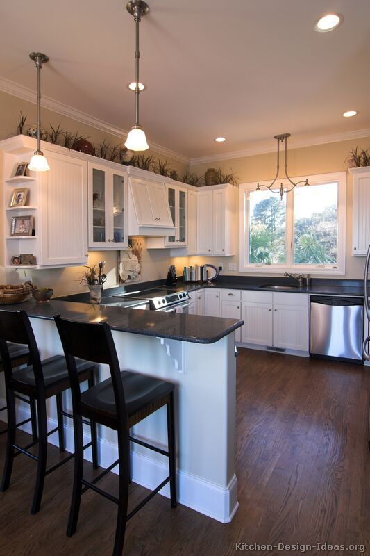 Pictures Of Kitchens Traditional White Kitchen Cabinets Kitchen 11