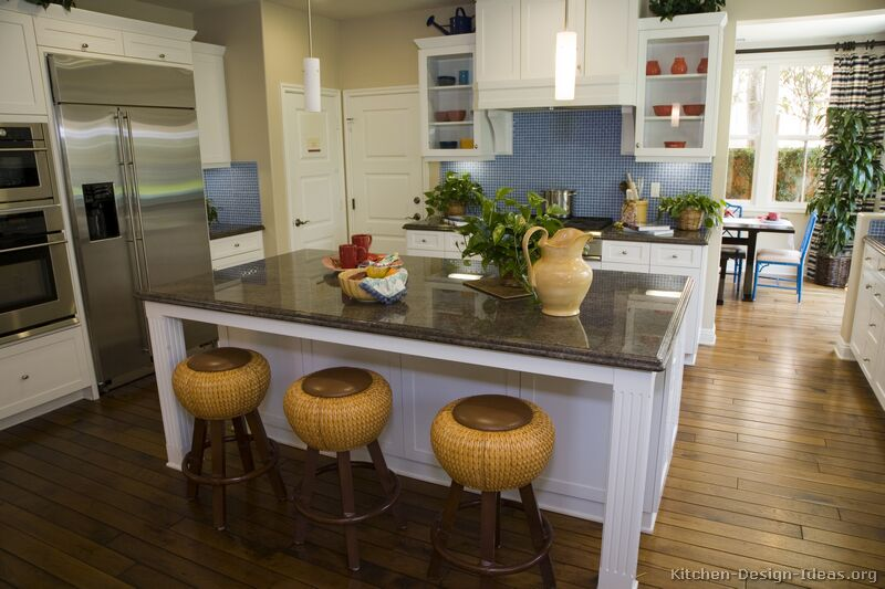 Pictures of kitchens traditional white kitchen cabinets kitchen 20 - Photos of kitchen ...