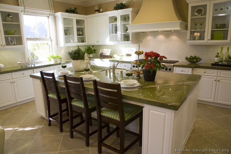 Granite Countertop Colors Green