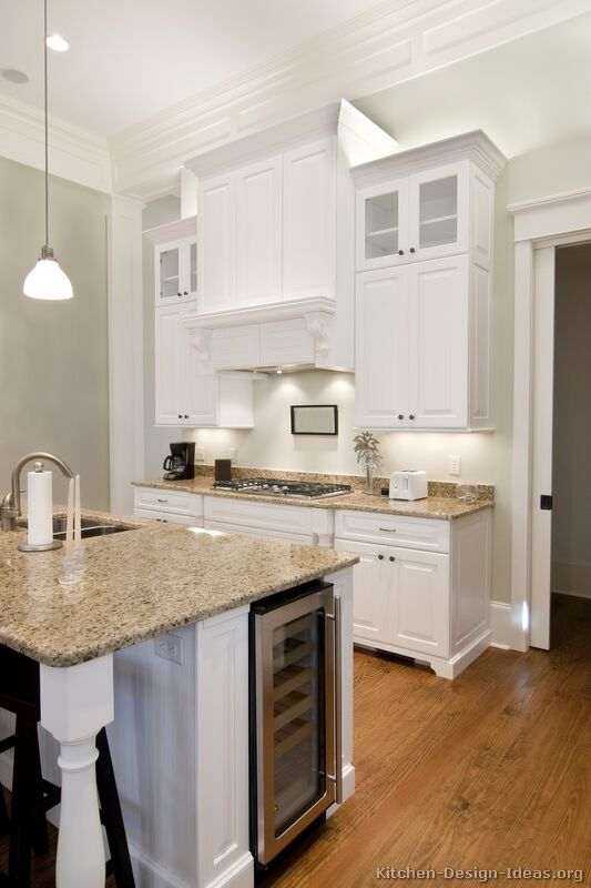 Pictures Of Kitchens Traditional White Kitchen Cabinets Kitchen 26