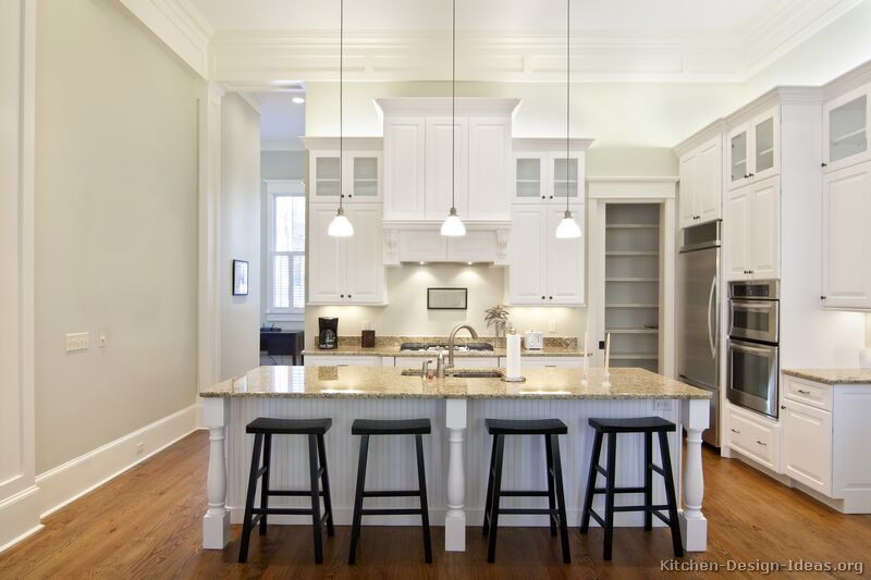 good Kitchen Design Ideas With White Cabinets #7: 25 [+] More Pictures · Traditional White Kitchen