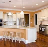 Traditional White Kitchen