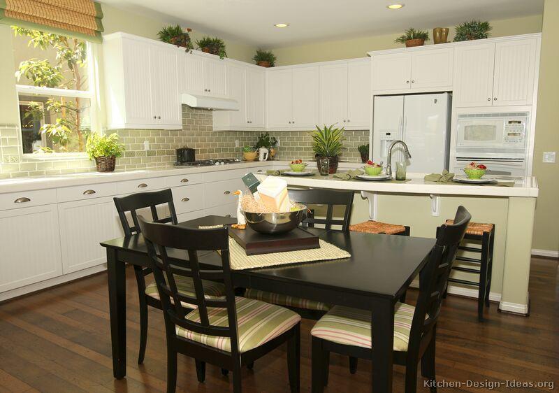 Traditional White Kitchen Design Ideas ~ Pictures of kitchens traditional white kitchen