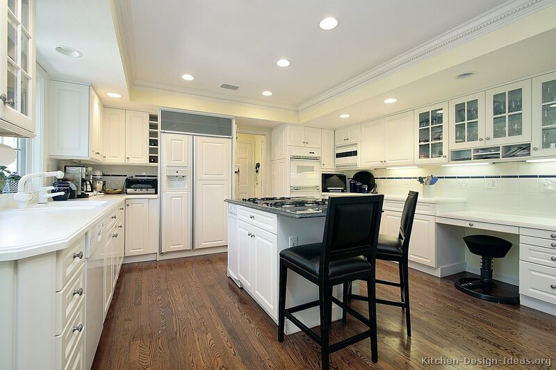 Pictures of kitchens traditional white kitchen cabinets page 4 - Kitchen images with white cabinets ...