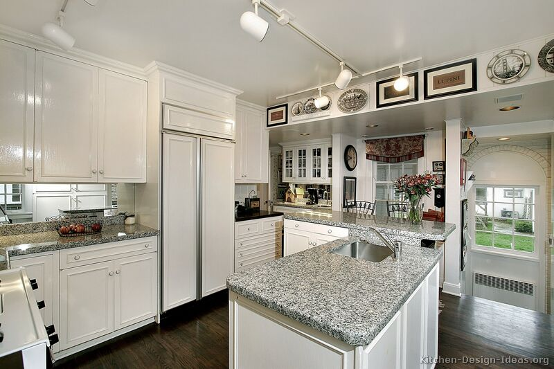 Kitchen Design Ideas Org ~ Pictures of kitchens traditional white kitchen