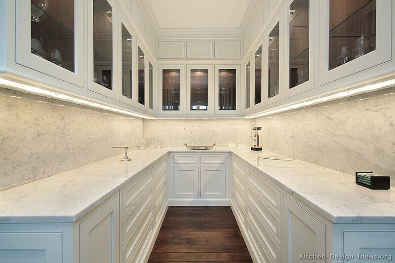 98, Traditional White Kitchen