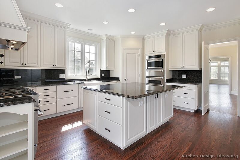 112 traditional white kitchen