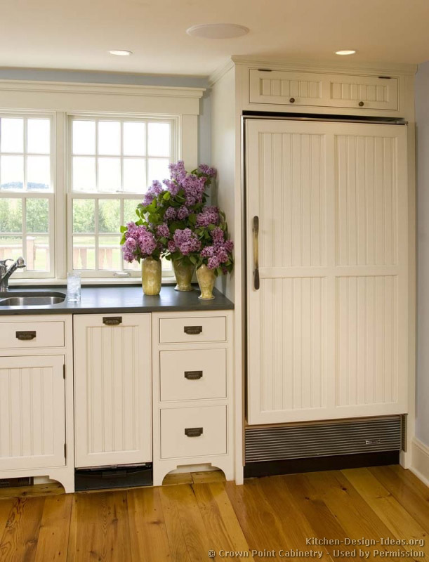 Door Style: Beadboard Panel | All About Kitchen Cabinets | Photos