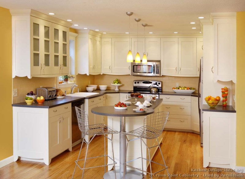 Pictures of kitchens traditional white kitchen cabinets kitchen 120 - Kitchen design ideas white cabinets ...