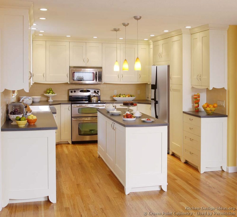 Traditional White Kitchen Cabinets Ideas: Pictures Of Kitchens