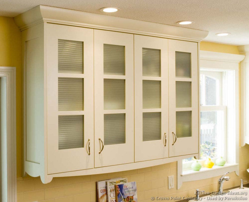 Pictures of kitchens traditional white kitchen for Kitchen cabinets doors