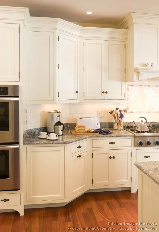 Victorian kitchens cabinets design ideas and pictures for Angled kitchen cabinets