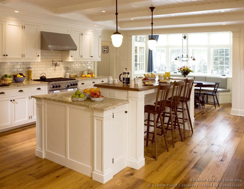 Pictures of kitchens traditional white kitchen for Victorian kitchen ideas