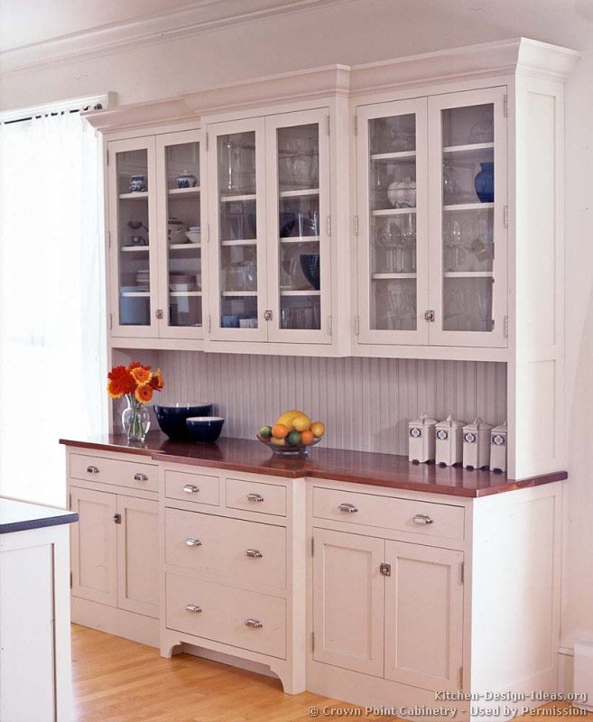 Pictures of kitchens traditional white kitchen for Kitchen cupboard ideas