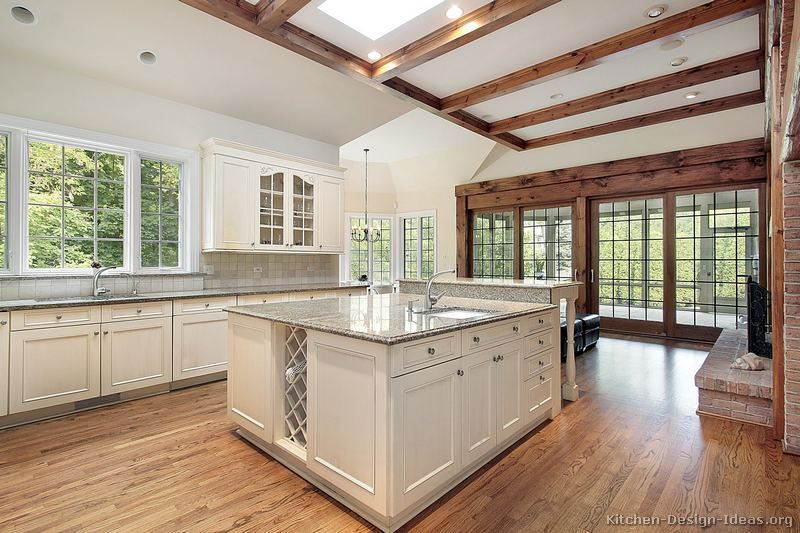 Excellent White Kitchen with Wood Beams 800 x 533 · 94 kB · jpeg