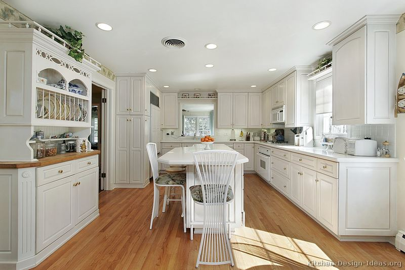 Best White Kitchen Cabinets pictures of kitchens - traditional - white kitchen cabinets (page 5)
