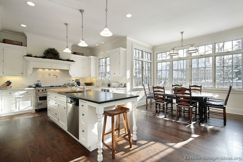 Traditional White Kitchen Ideas pictures of kitchens - traditional - white kitchen cabinets (page 5)